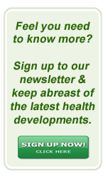 Newsletter Signup - Knowledge is Power...